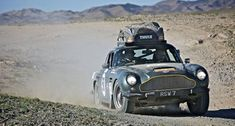 Aston Martin -  The art of good living. More at www.bramble.co --- #aston #martin #rally #racing #cars #desert