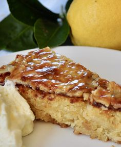 Italian lemon cake - gluten free, is so moist, lemony with white chocolate as a secret ingredient that adds a luxury smoothness to the dense crumb. Gluten Free Lemon Cake, Gluten Free Deserts, Gluten Free Cakes, Easy Lemon Curd, Lemon Curd Cake, Cheesecake Recipes, Dessert Recipes, Desserts, Italian Lemon Cake