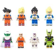 La nueva figura de Goku será de LEGO