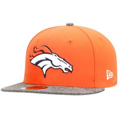 Denver Broncos New Era Premium 59FIFTY Fitted Hat - Orange - $28.79