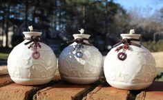The Honey Pot Trio Tiki Torches Oil Lamp by ShopPrettyPatina