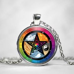 The Wiccan Sabbats Necklace from The Moonlight Shop - 1