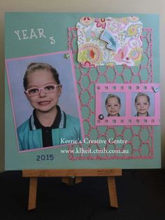 My take on my daughters school photos for the year 2015