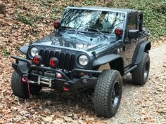 """Jeep Wrangler Accessories - KC HiLiTES 5110 6"""" Round Black Vinyl Light Cover w/ Red KC Logo - Set of 2 Jeep Wrangler Lights, Jeep Wrangler Tj, Jeep Wrangler Accessories, Jeep Accessories, Jeep Racks, Light Covers, Jeep Life, Tail Light, Jeeps"""