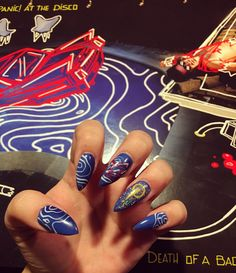 Panic! At the Disco nails for the Death of a Batchelor tour