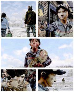 "Episode 5 ""No Going Back"" all endings twdg | The Walking Dead (Telltale Game)"