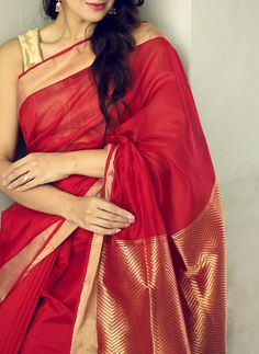 Description: It has 1 Piece of Saree With Running Blouse Fabric: Saree and Blouse: Soft Silk Length: Saree with Running Blouse: mtr Work; Saree: Solid With Printed Work , Blouse: Printed Indian Attire, Indian Ethnic Wear, Indian Dresses, Indian Outfits, Soft Silk Sarees, Cotton Saree, Cotton Dresses, Simple Sarees, Elegant Saree