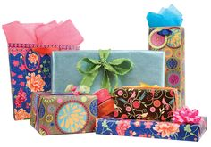 Make every gift a posh presentation when you choose The Gift Wrap Company! Select from a wide range of festive gift wrap, bags and gift wrapping accessories perfect for any occasion.