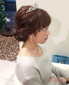 可愛い花嫁さまのお花たっぷりリゾートSTYLE♡ハワイ挙式リハ編 | 大人可愛いブライダルヘアメイク 『tiamo』 の結婚カタログ Kawaii Hairstyles, Hair Arrange, Wedding Make Up, Bridal Hair, Locks, Wedding Hairstyles, Hair Beauty, Hair Accessories, Hair Styles