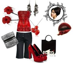 """""""Chinatown"""" by thanna2029 ❤ liked on Polyvore"""