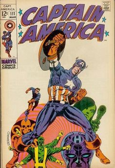 Top Five Most Iconic Captain America Covers | Comics Should Be Good! @ Comic Book Resources