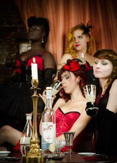 Absinthe Janis in burlesque world.