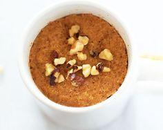 Coconut Flour Pumpkin Mug Cake