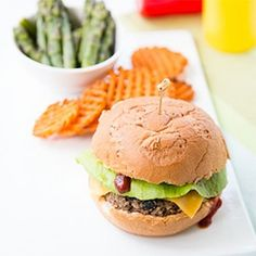 Black Bean Quinoa Burgers- easy healthy recipe