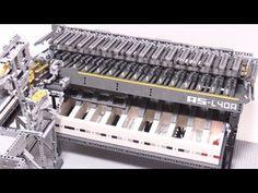 Machine made of Legos