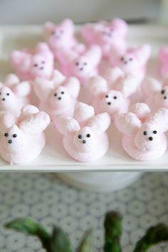Homemade Marshmallow Bunnies | Annie's Eats