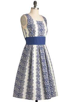 Katie's Keep It Precious Dress, #ModCloth