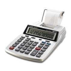 Canon P23DH V 2 color miniDesktop Printing Calculator * You can get more details by clicking on the image.