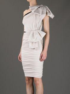 LANVIN - ruffled one shoulder dress 8