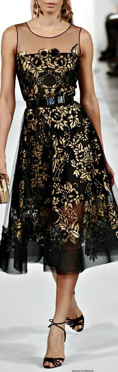 black, gold, floral, lolobu, pinned