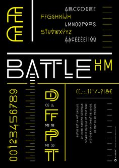 Graphic Design by M l'Atelier© Type Design : Hubert Munier