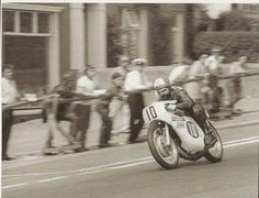 Santi Herrero, TT 1970, some minutes befere his fatal accident...