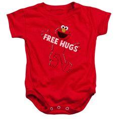 Sesame Street: Free Hugs Infant Onesie