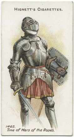Arms & Armour - 26 - A knight (dismounted) - 1465. Time of Wars of the Roses.