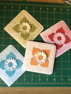 Notelets I made, check out my blog to see how!