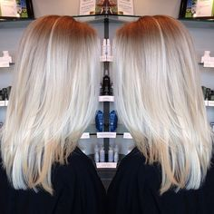 beautiful blonde :: RedBloom Salon