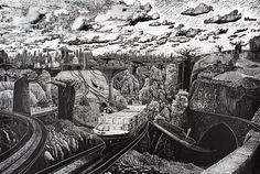"Amazing linocuts from Aberdeen based artist, printmaker Ade Adesina ""Adaption linocut, 112 x ©️ Ade Adesina Lino Print Artists, Linocut Prints, Digital Image, Printmaking, Paper Art, Abstract, Drawings, Illustration, Artwork"