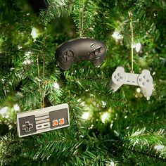 Video Game Controller Ornament Set: Throw it back to your early gaming days with this controller ornament set ($20) that shows off classic consoles.