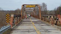 Gasconade 3 Old Bridges, Kansas City Missouri, Route 66, River, Building, Buildings, Construction, Rivers