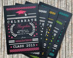 chalkboard graduation announcements - Google Search