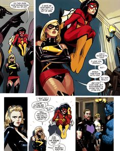 Ms Marvel and Spider-Woman