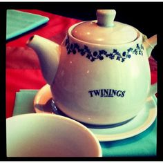 Twinings Tea -Decaf English Breakfast is my favorite