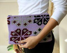 Embrayage à motifs Wayuu fait main