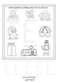 Písmenká - séria pracovných listov - Nasedeticky.sk Montessori, Education, Games, Alphabet, Note Cards, Lyrics, Gaming, Onderwijs, Learning