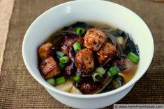 Loaded Miso Soup  | Farm Fresh Feasts