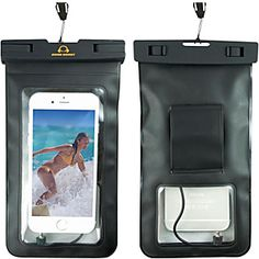 Universal Dry Bag Waterproof Case Running Armband for Cell Phones and Other Essentials