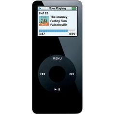 Tori Stuart's Family's Apple iPod nano 1 GB Black 1st Generation