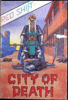 City of Death - ZX Spectrum game Computer Video Games, Gaming Computer, Retro Games, Games Box, Box Art, Zombies, Spectrum, Consoles, Arcade