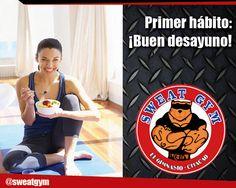 ¡Desayuna! #Salud #Nutrición #Cardio #Musculacion #Culturismo #Fitness #Gym #ComeSano #SweatGym #SoySweatGym #TerritorioSweatGym #MrSweat #SweatGymxVenezuela #ejercicio #fisicoculturismo