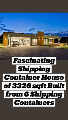 Shipping Container Design, Shipping Container House Plans, Container House Design, Shipping Containers, Building A Container Home, Container Buildings, In Law House, Amazing Houses, A Frame House