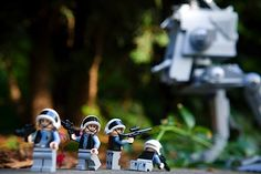 Photographing a Lego scene. Photo by kennymatic.