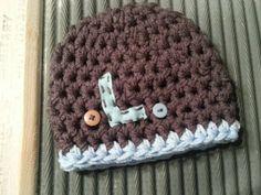 Monogram Beanie Hat  initial monogrammed by BellaMariesboutique, $12.00