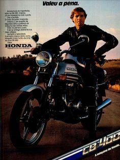 Honda CB 400 - Propaganda (1981) (Brazil)