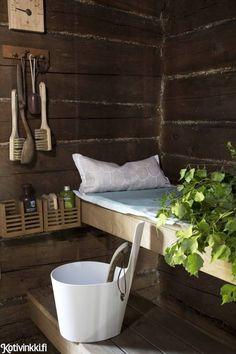 From a rundown hut to a sauna hut of our dreams Scandinavian Interior, Home Interior, Interior Decorating, Hygge, Modern Saunas, Sauna Wellness, Sauna Shower, Sauna House, Sauna Design