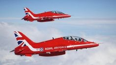 The Royal Air Force's (RAF) Red Arrows aerobatic team will not fly a full routine at this year's Farnborough International Airshow. Due to heightened concerns about urban areas around the air show site—as well as increased public awareness of air show safety following the crash of a Hawker Hunter at the August 2015 Shoreham Airshow—the nine-ship Red Arrows team will be limited to flypasts only, RAF and Farnborough show organizers confirmed June 15.