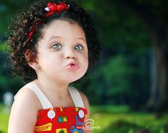 Biracial Curly Hair | Information 101 from A to Z (She's a cuttie pie!)